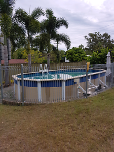 Above ground swimming pool Browns Plains Logan Area Preview