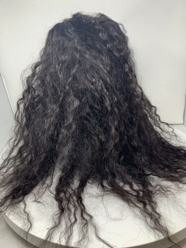 100 HUMAN HAIR REMI WHOLE LACE WIG - HANDMADE WIG 34 WH-TIANA - SOFT HAIR  - $172.50