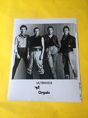 Ultravox Press Photo 8x10, Chrysalis Records. comprar usado  Enviando para Brazil