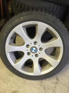 BMW snow tires
