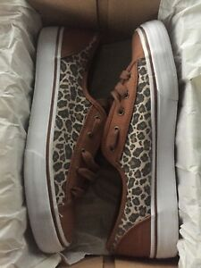 Leopard Keds ; woman's size 8