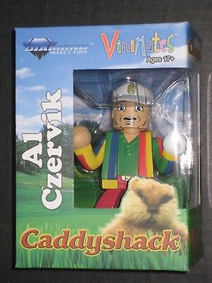 Rodney Dangerfield In Caddyshack (CADDYSHACK RODNEY DANGERFIELD AS AL CZERVIK VINIMATE MINIFIGURE NEW IN)