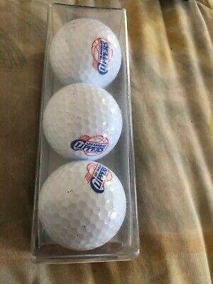 Logo Golf Ball-Nba los Ángeles Clippers. Juego De Tres! 1984-2010 logo