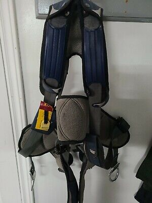 Used Dbi Sala Exofit Positioning Safety Harness Iron Worker Tower Xl