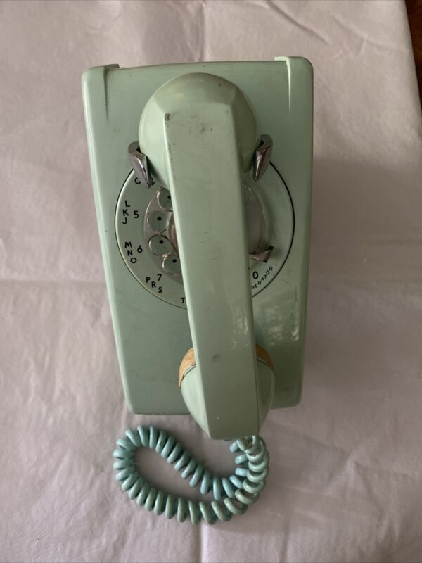 1965 Western Electric Turquiose wall phone