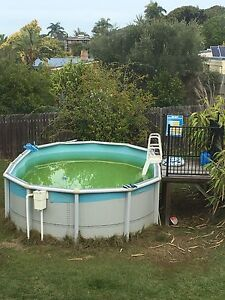 Above ground pool Clontarf Redcliffe Area Preview