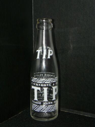 Tip Cola 6 oz Soda Beverage Bottle 1941 Rare