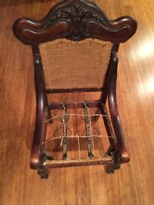 Chair Rare Antique Late 1800s Refinish