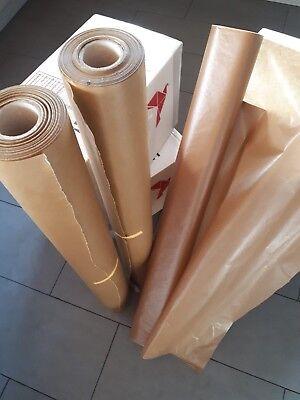 """2 Rollen Ölpapier/ Wachspapier """"Braun"""" Rolle a 100cmx100M Verpackungspapier TOP"""