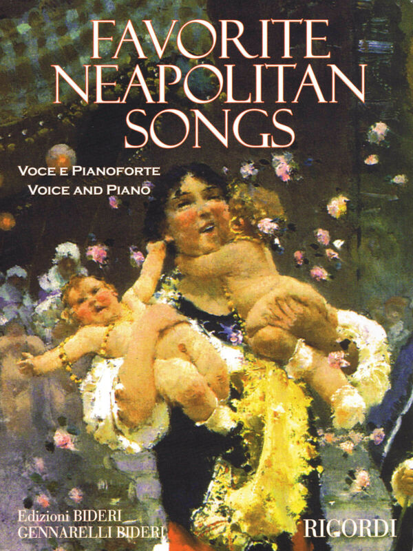 Favorite Neapolitan Songs for Vocal Piano Classical Sheet Music Ricordi Book
