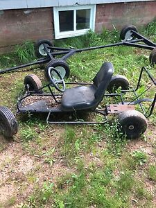 Go cart frame and body