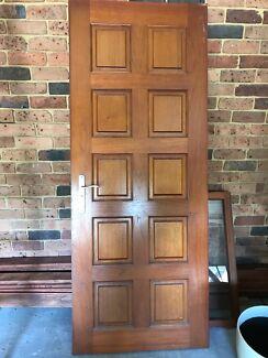 Sold timber door and lock/ key/ handle & solid door in Artarmon 2064 NSW | Building Materials | Gumtree ...