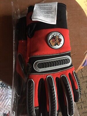 Schmitz Mittz Red Super Duty Utilityarmor Rescue Gloves New Waterproof Small