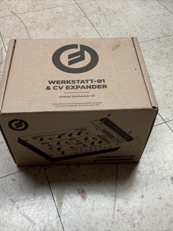 Moog Werkstatt-01 Analog Synthesizer Kit with CV Expansion Board