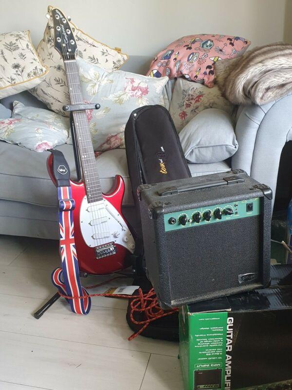 Tanglewood electric guitar Bundle