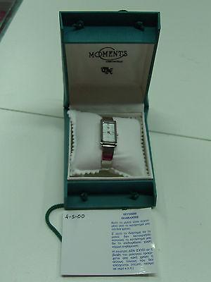 Vintage Sigma Chronolux Moments Ladies Watch Elegant Greek Design 521 Mib