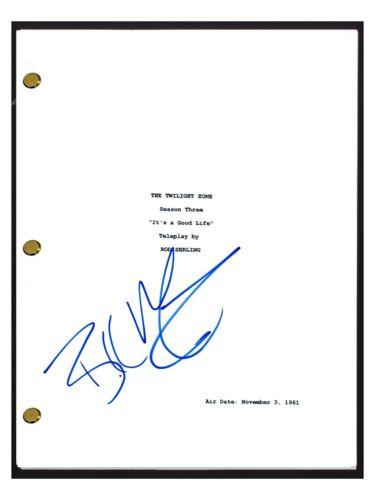 Bill Mummy Signed Autographed TWILIGHT ZONE It's A Good Life Episode Script COA