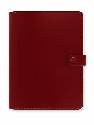 Filofax - A5 The Original Pillarbox Red - Thick Genuine Leather Organiser