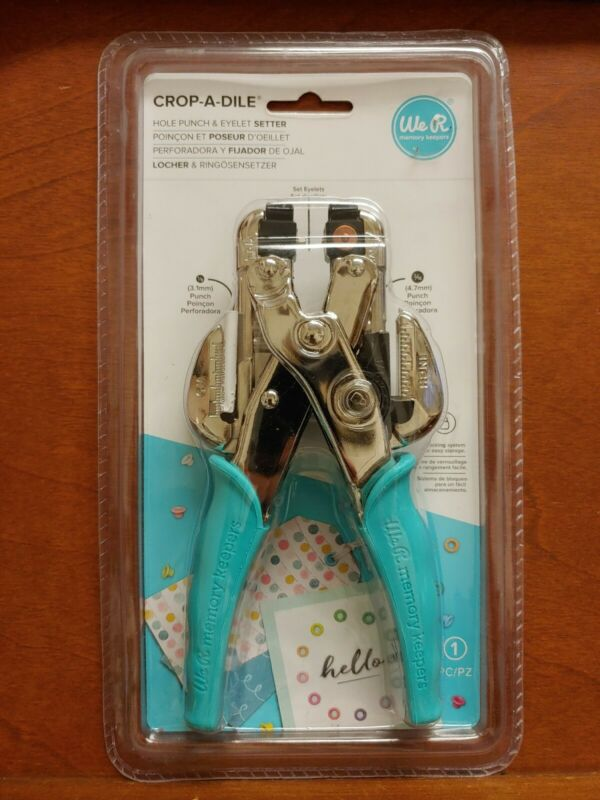 J208 Crop-A-Dile: Hole Punch & Eyelet Setter! Item# 70907-7