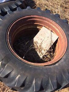 Farm tractor duals