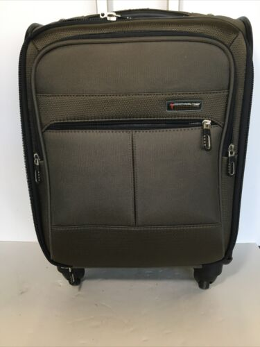Ricardo Beverly Hills 20-Inch Carry-On Suitcase Brown - $35.00