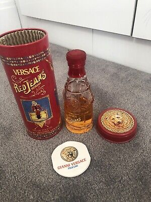 VERSACE RED JEANS WOMAN EDT 75ml FOR HER RRP £32