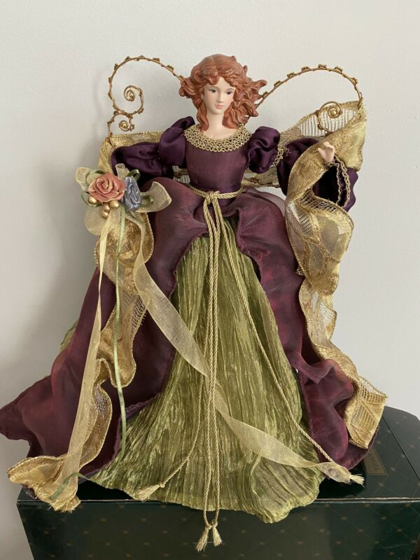 Christmas Tree Angel Topper 16""