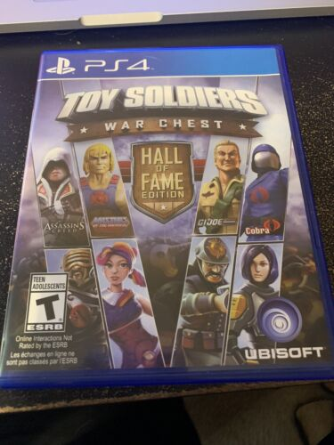 Toy Soldiers War Chest Hall Of Fame Edition PlayStation 4 PS4 Complete Perfect - $7.50