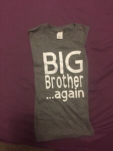 Big brother & Big sister announcement shirts