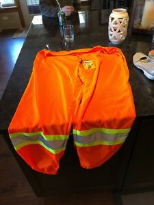 Summer safety construction mesh pants