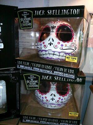 Funko DISNEY Jack Skellington Sugar Skull Hot Topic Excl Nightmare Before Xmas