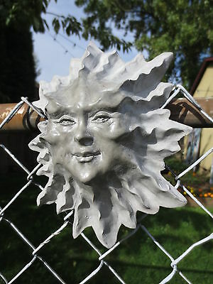 Sun Face Garden, Patio Sculpture Gift, Home ...