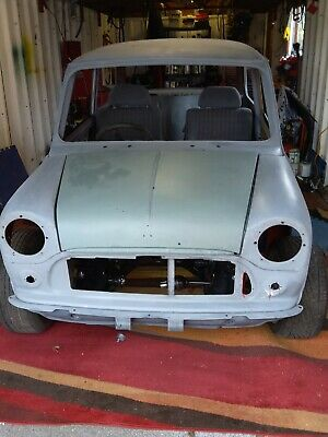 Classic Rover Mini Mayfair rolling Shell With Most Parts