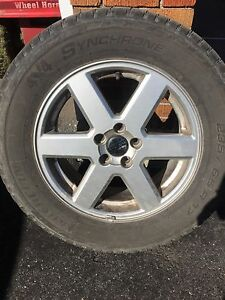 Volvo tire with rim