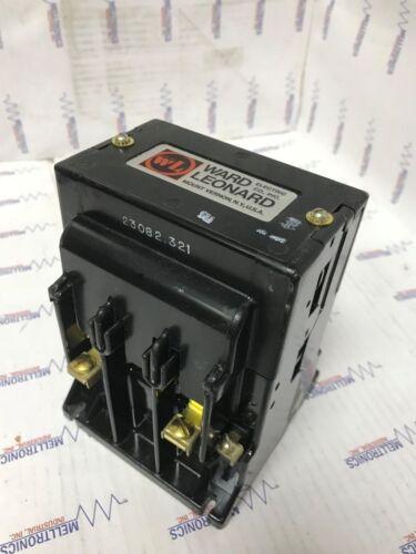 Ward Leonard / Joslyn Clark 5DP1-11100 Special Purpose Contactor, Coil 120V
