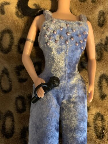 Spice Girls Doll Hand Held Microphone Barbie Size - $4.99