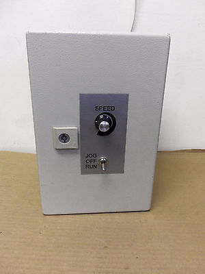 Speed Controller Mse402 Board Inside W Rittal Outer Box Fire Alarm