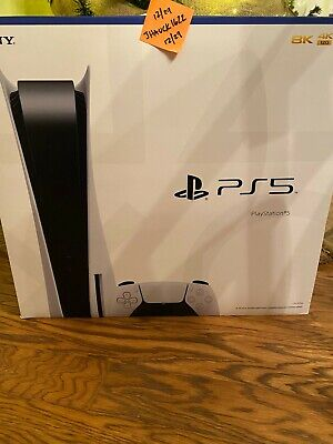 NEW Sony Playstation 5 Disc Edition Console PS5 ⚡️IN HAND-FAST SHIPPING⚡️ SEALED