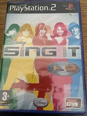Disney Sing It PS2 (english/russian)