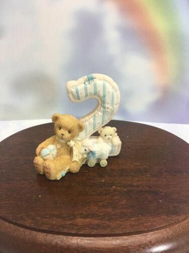 Cherished Teddies Teddies To Cherish Number Age 2  2004 NEW
