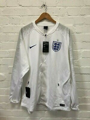 Nike England Football Men's Anthem Jacket - 2XL - White - NWD