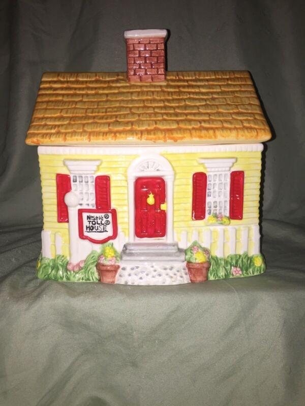 Nestle Toll House Cookie Jar & Lid USA 1992