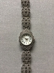 Ladies Marcasite Watch