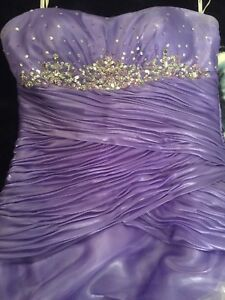 Grad Dress - Light Purple