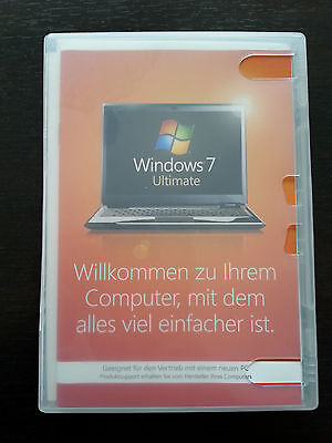 Microsoft Windows 7 ULTIMATE 64bit Vollversion deutsch OEM GLC-00740 (Windows 7 Ultimate Vollversion)