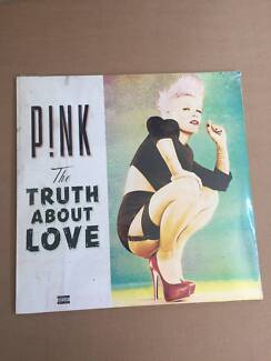 Mint condition P!nk vinyl 'The truth about Love'