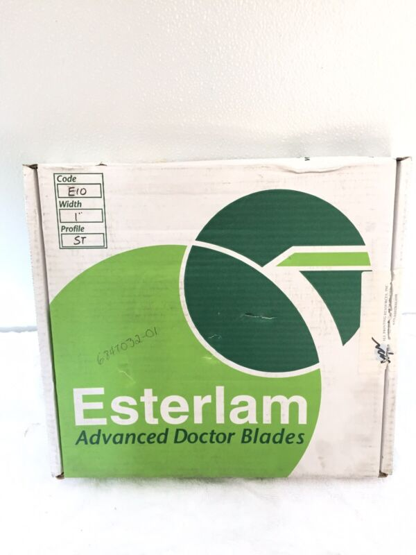 "Esterlam Advanced Doctor Blades E-Series E10 1"" ST"