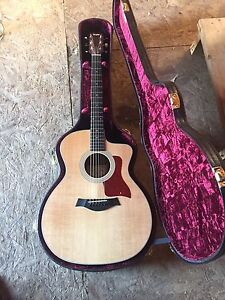 Taylor 214CE DLX Acoustic Electric with Hardshell Case