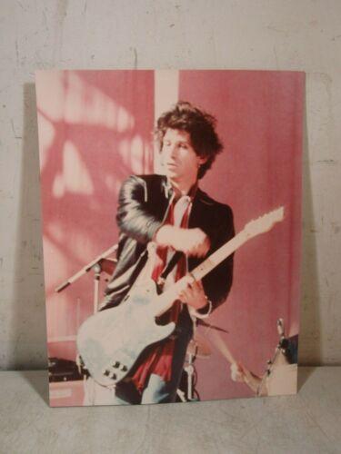 Vintage 1981 Stones Keith Richards JFK Stadium Original Photo Unpublished PA