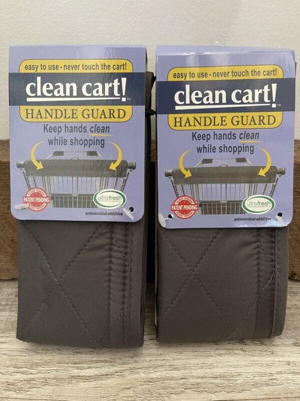 New Clean Shopping Cart Handle Guard Reusable Cover Sanitary Washable(2 Pack)
